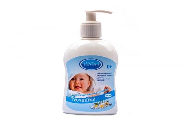 Детское жидкое крем-мыло с экстрактом Ромашки, 300мл 1