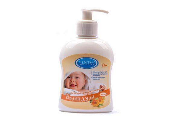 Детское жидкое крем-мыло с экстрактом Календулой, 300мл 1