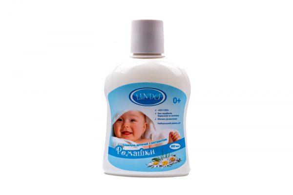 Шампунь детский Lindo, с экстрактом Ромашки, 300мл 1